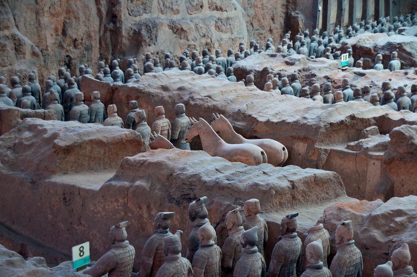 Terakottaarmee in Xian