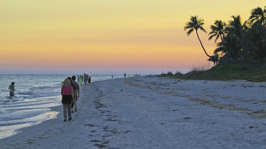 Sanibel Island Gulf Beach