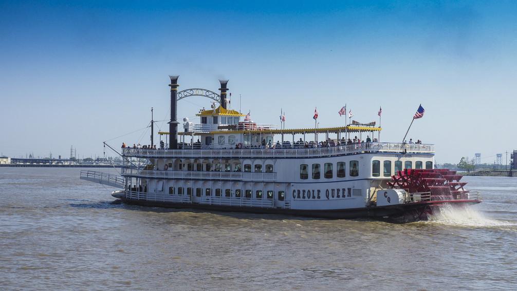 Auf dem Mississippi bei New Orleans