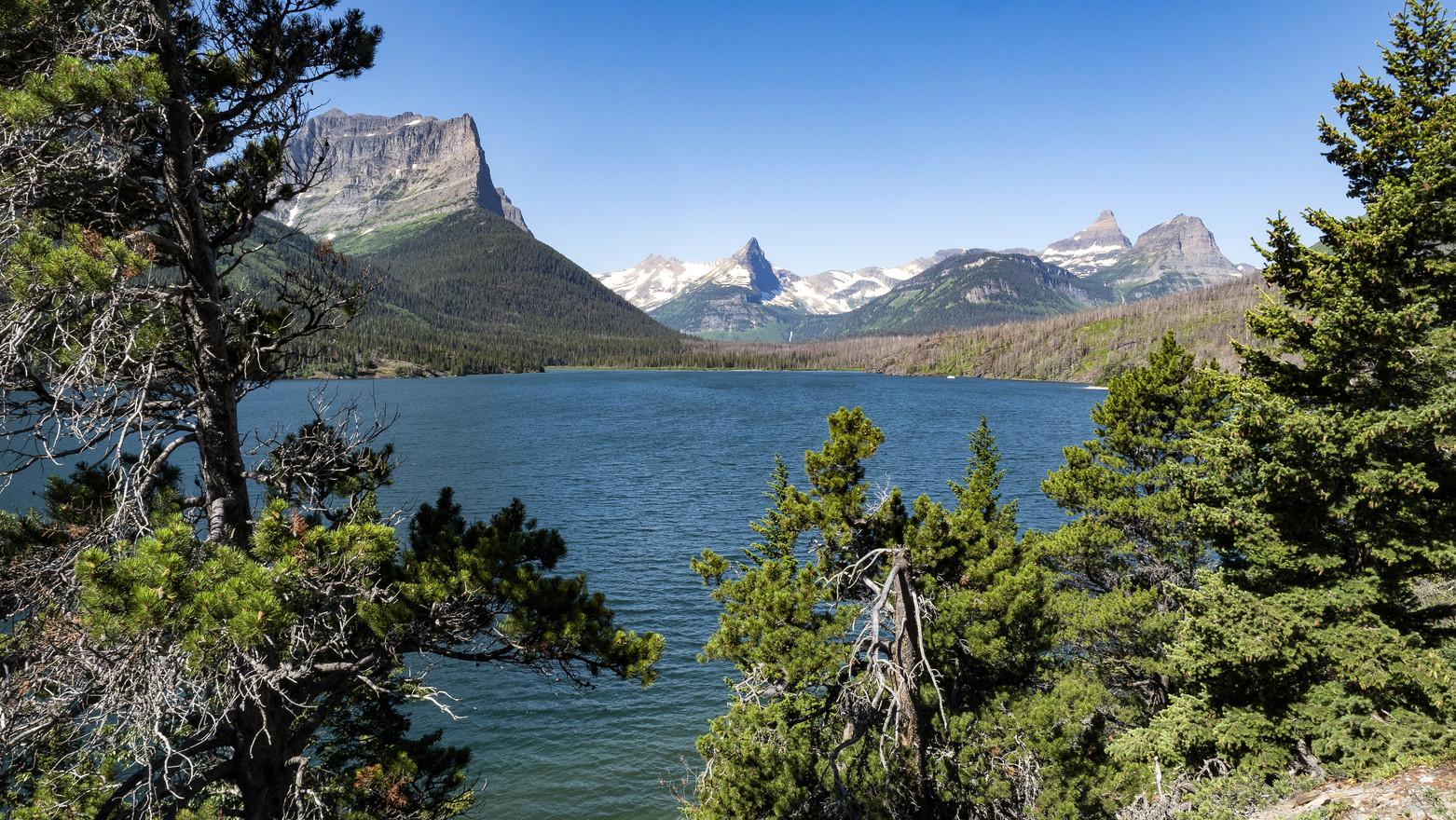 Lake Mary Glacier NP