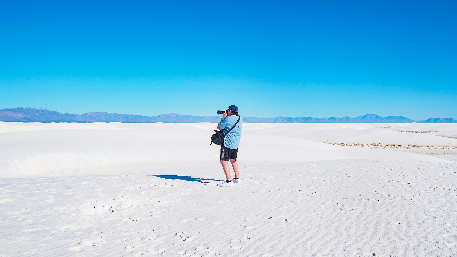 White Sanddunes New Mexico