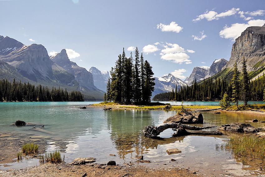 Spirit Island im Lake Maligne Canada