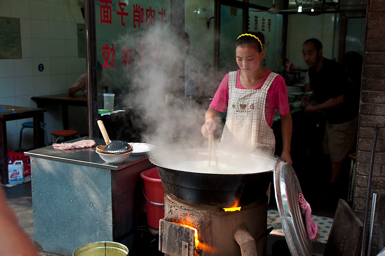 Sreet Food in Xian China