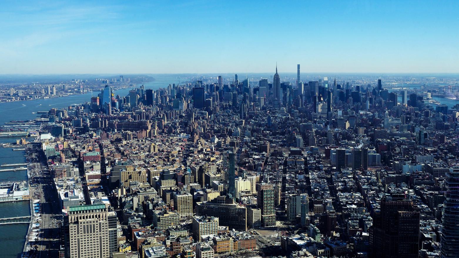Auf dem World Tower in NYC