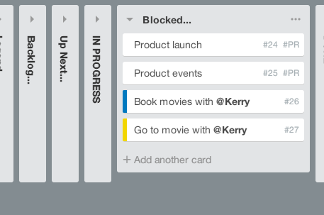 Picture of how to add card numbers in Trello using TrelloX