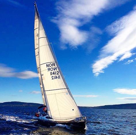 En rask og elegant havgående seilbåt