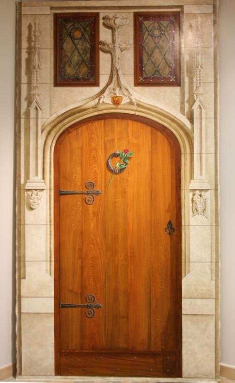 Porte gothique XV ème.2.50m x 1.30m
