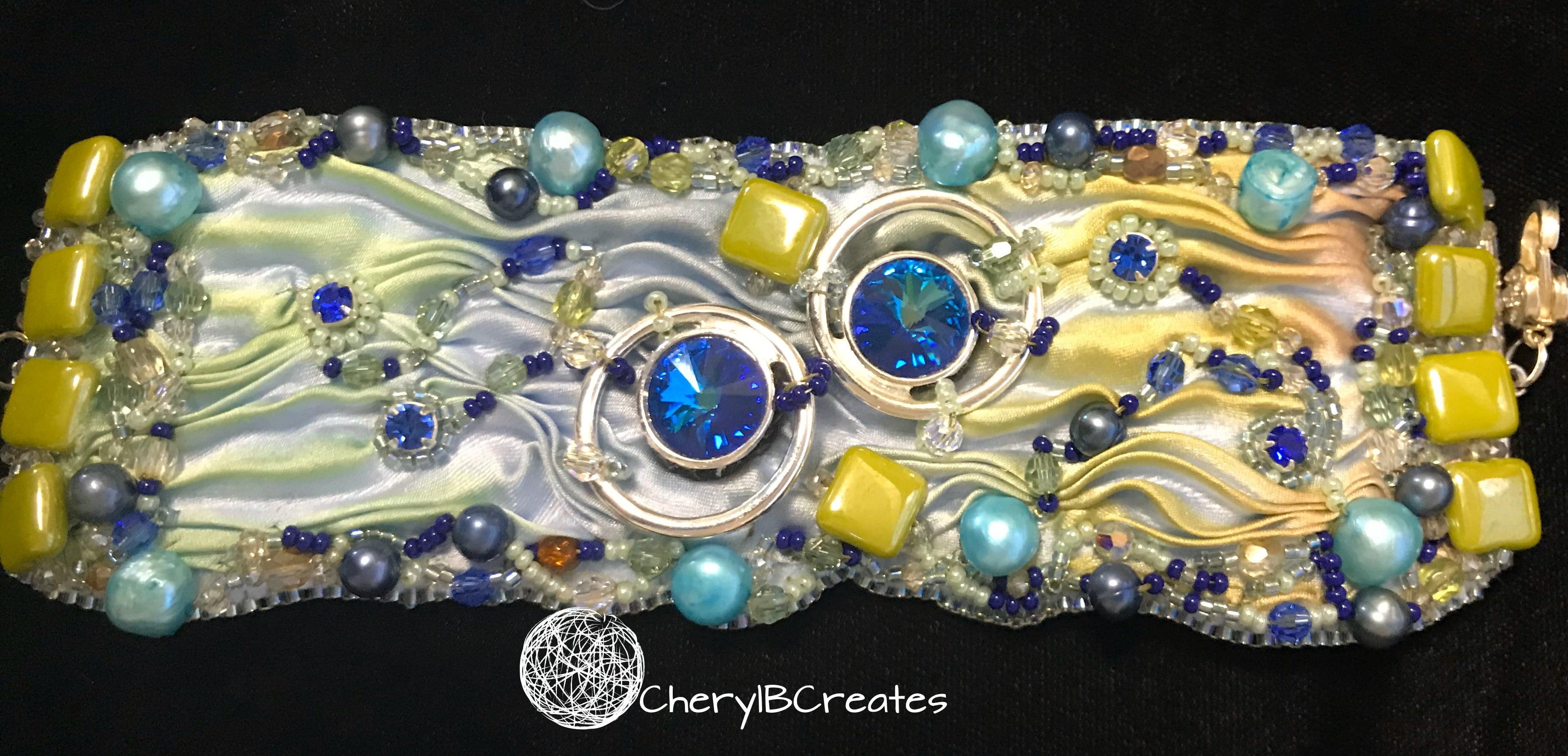Blue Link Bracelet