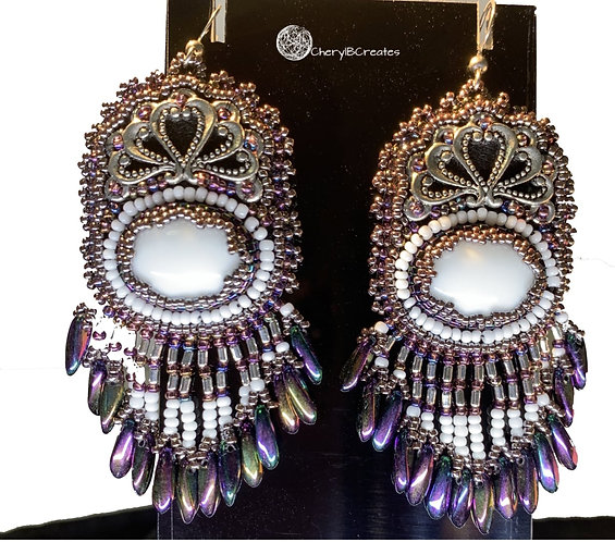 Statement Earrings-Cleopatra
