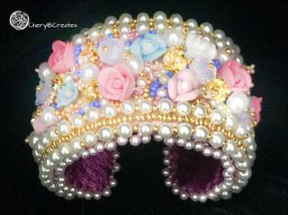 Polymer Garden Bracelet