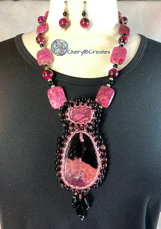 Cherry Necklace Set
