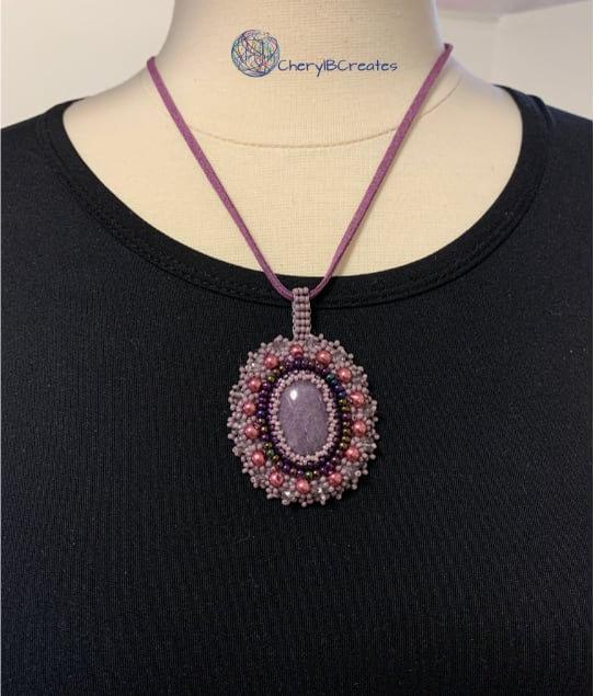 Petite Purple Necklace