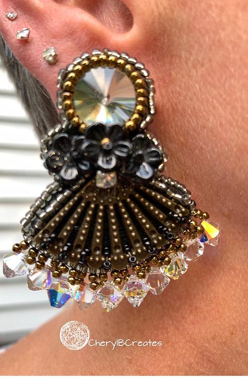 """""""Flower Girl"""" Earrings"""