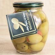 Olives grecques farcies aux poivron Thessa
