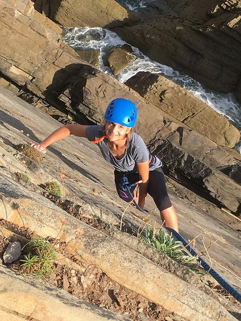 adult climbing