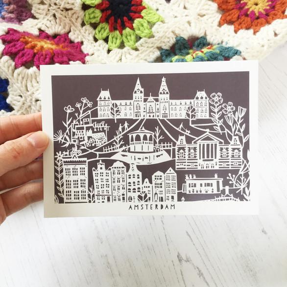 Amsterdam Postcard
