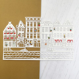 Personalised Street Papercut