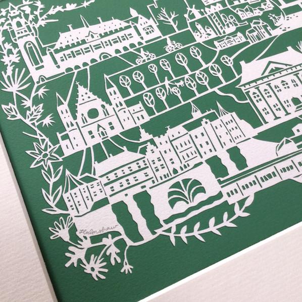 Signed Limited Edition Print: Den Haag & Scheveningen €80