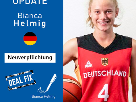 Neuzugang Bianca Helmig