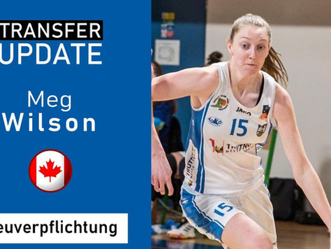 Neuzugang Meg Wilson