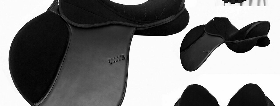 """Self Adjusting changeable gullet Synthetic All General Purpose Saddle 17"""", 17.5"""""""