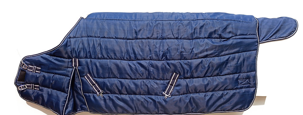 HORSE STABLE RUG 420D HEAVY WEIGHT STANDARD NECK NAVY BLUE COLOUR