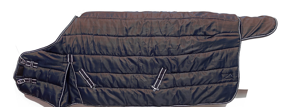 HORSE STABLE RUG 420D HEAVY WEIGHT STANDARD NECK BLACK COLOUR IN ALL SIZES
