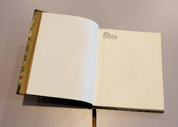 A4 Notebook: inside pages