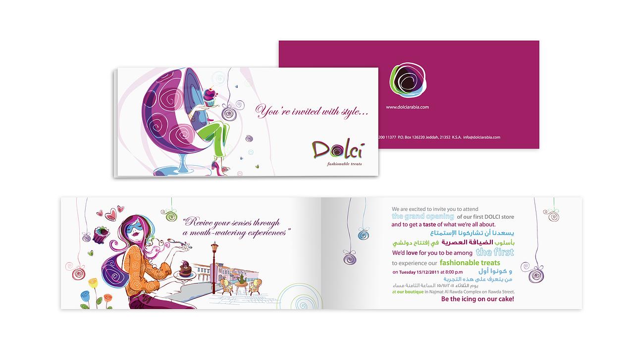 opening invitation card
