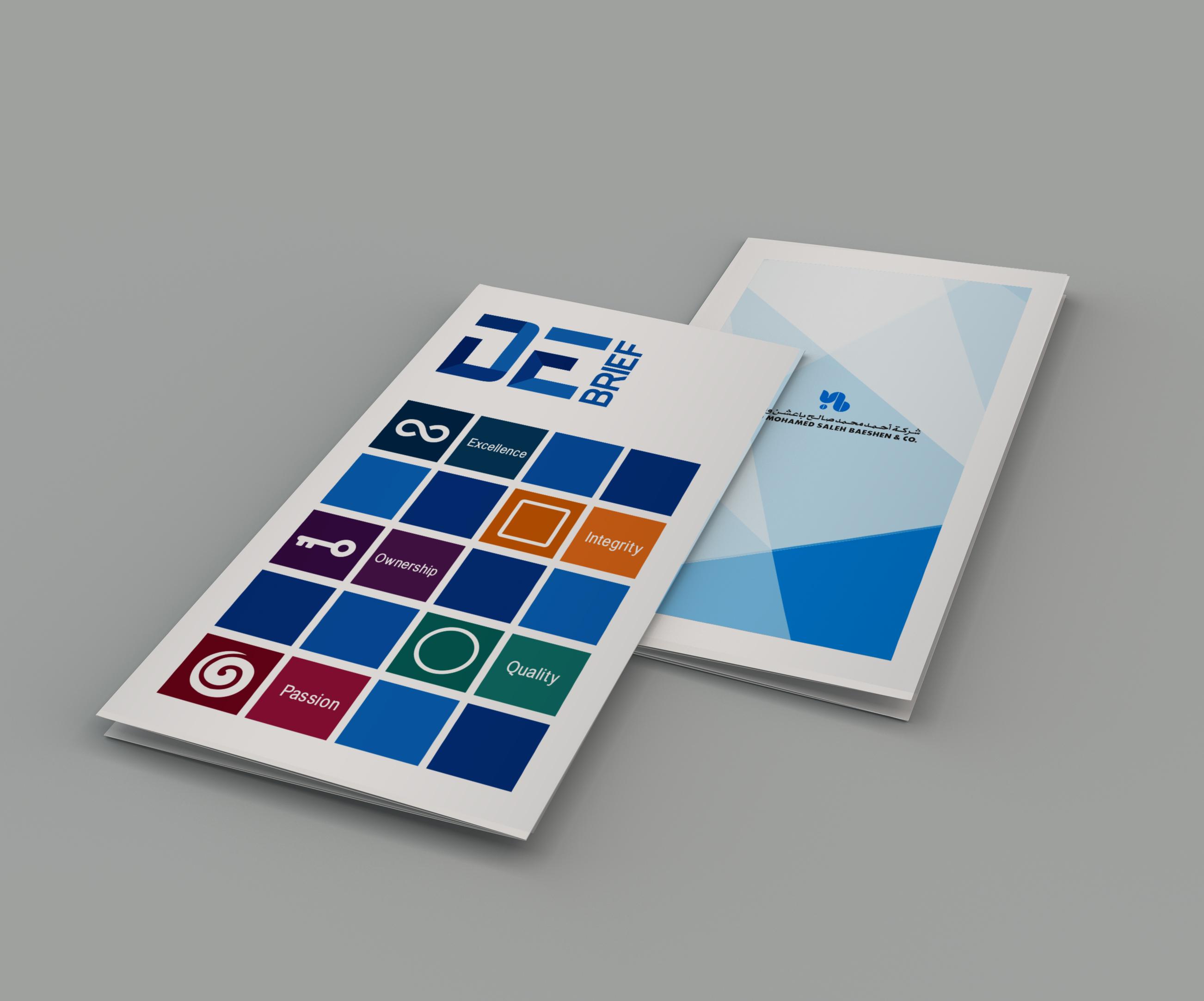 Leaflet-front & back cover