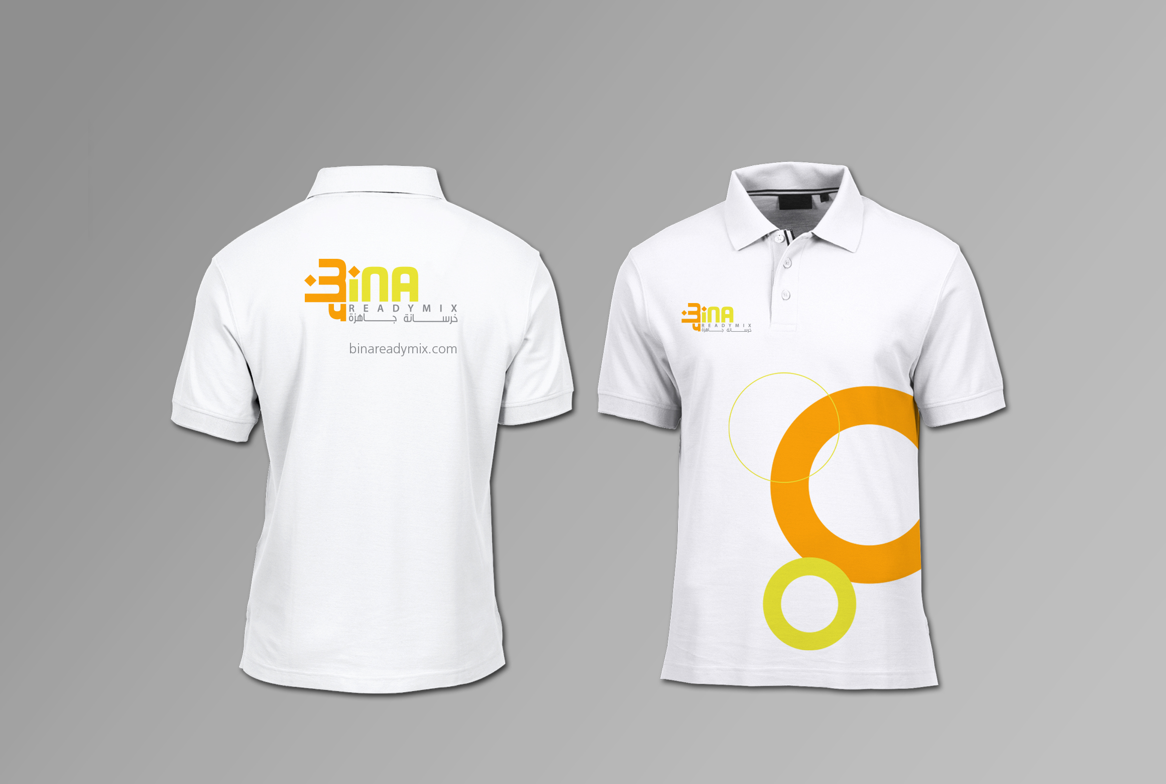 polo shirts front & back