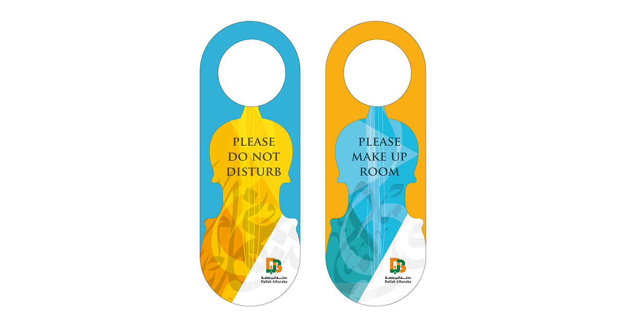 dont disturb door sign