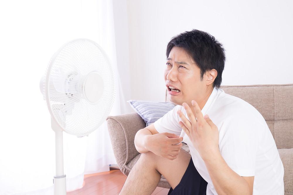 賃貸の夏は暑い!エアコンつけっぱなしだと電気代が気になる!
