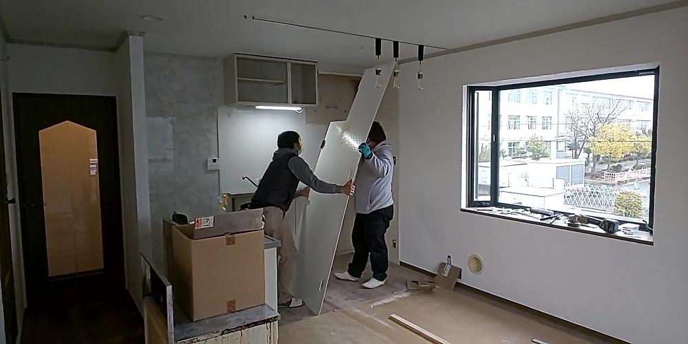 キッチンパネルもリノベーションの際交換しています