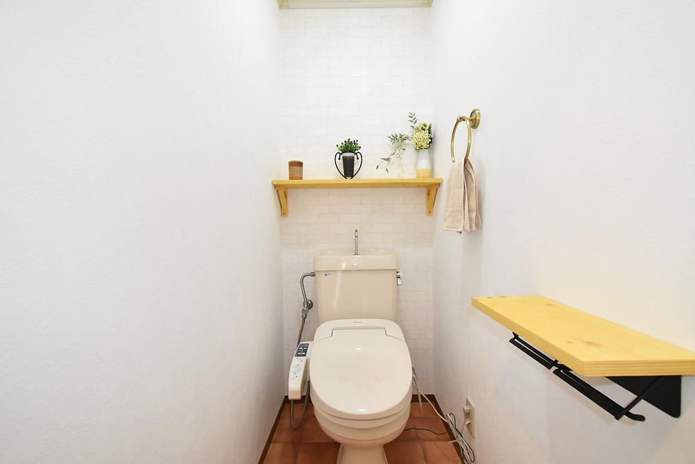 カフェのトイレ!と叫んでしまうほどおしゃれなトイレとなっています!