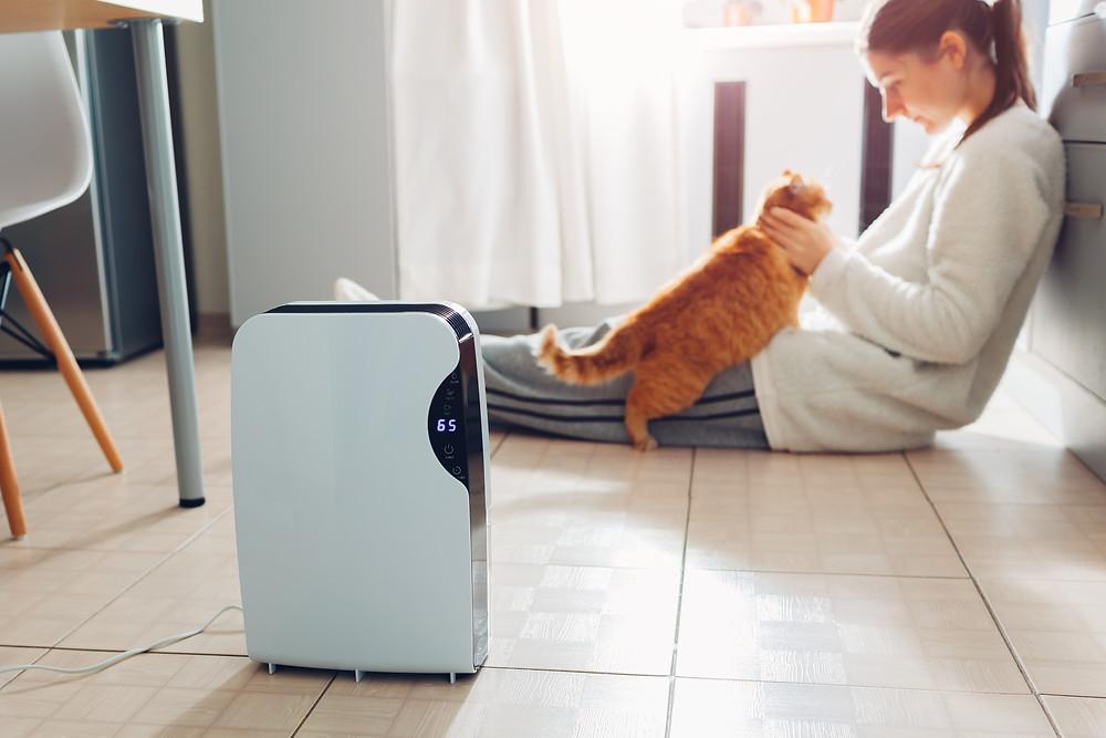 空気清浄機を自宅のお部屋にすべて用意することは現実的には難しいですよね