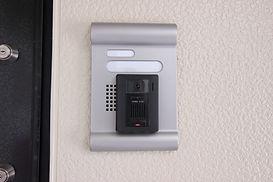 モニター付きインターフォンを全室標準装備