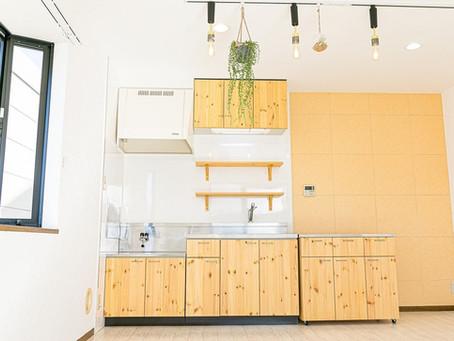 グレイスロイヤルのおしゃれなリノベーションキッチンができるまで。