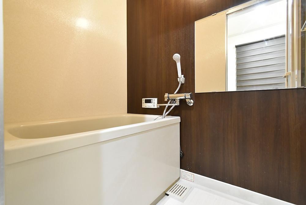 新築のお風呂と言っても過言ではないぐらいおしゃれな浴室