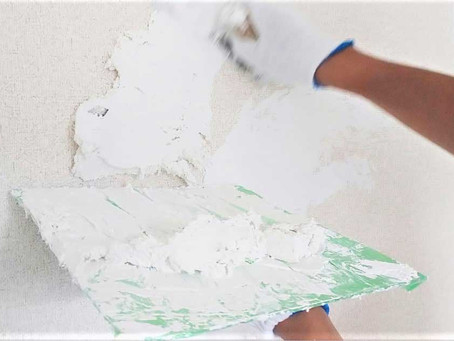 リノベーションでおしゃれに生まれ変わった漆喰壁。