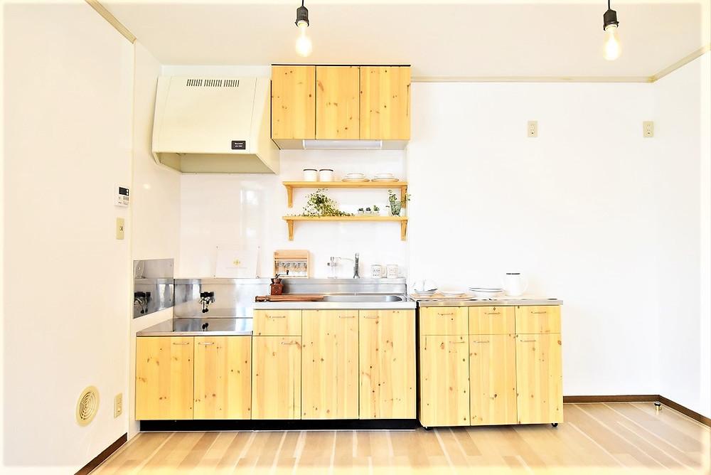 お洒落なキッチンで料理ができれば、毎日の家事も楽しくなります。