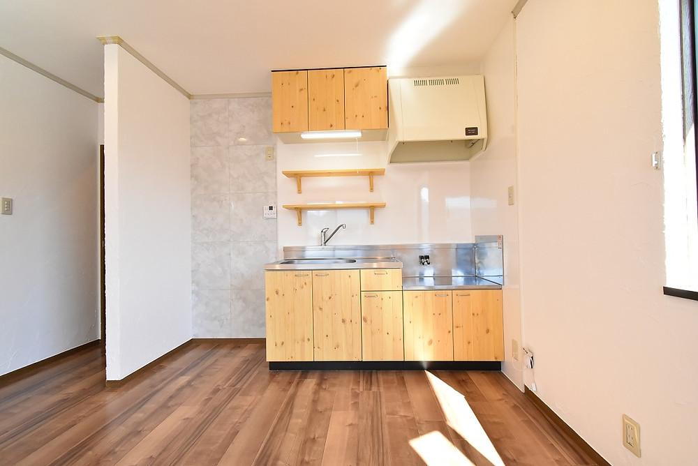 山梨おしゃれ賃貸グレイスロイヤルでは漆喰を室内に施工することで、エアコン使用量を抑えることが可能に