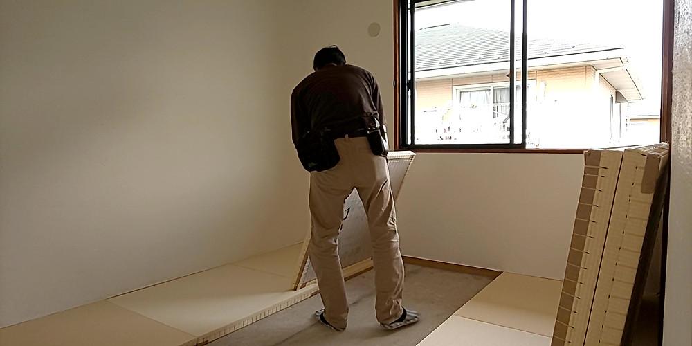 山梨おしゃれ賃貸・グレイスロイヤルの琉球畳は実は完全オーダーメイド