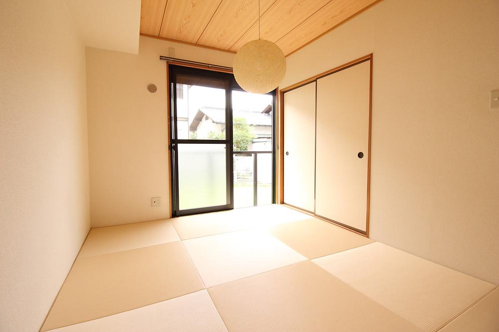 通所の畳とは違い、琉球畳は掃除がしやすいのが良いですよね