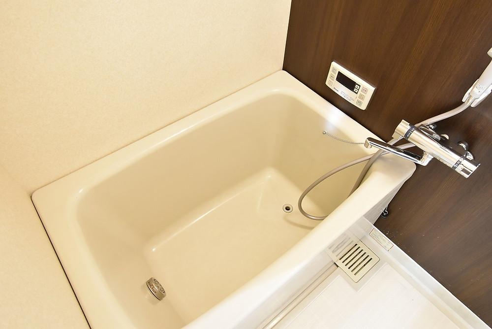 おしゃれな浴室