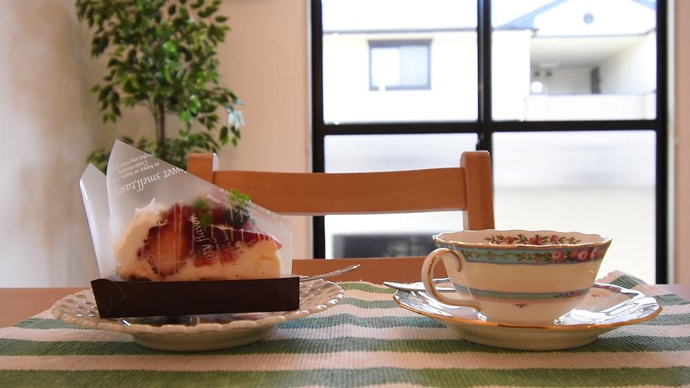 ナチュラルテイストに特化した部屋は、おうちカフェがとてもよく合います