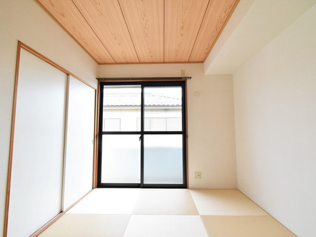 おしゃれな和室部屋が魅力的。山梨おしゃれ賃貸・グレイスロイヤル。