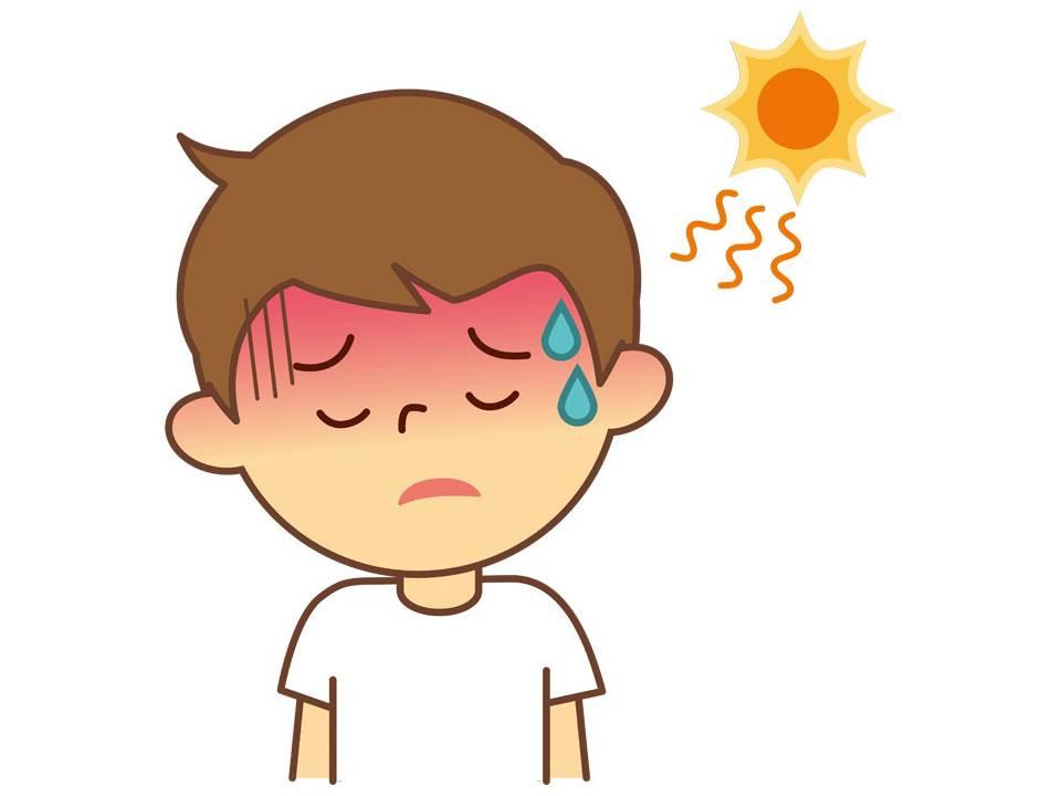 暑さ対策をしっかりしないと室内でも熱中症になります