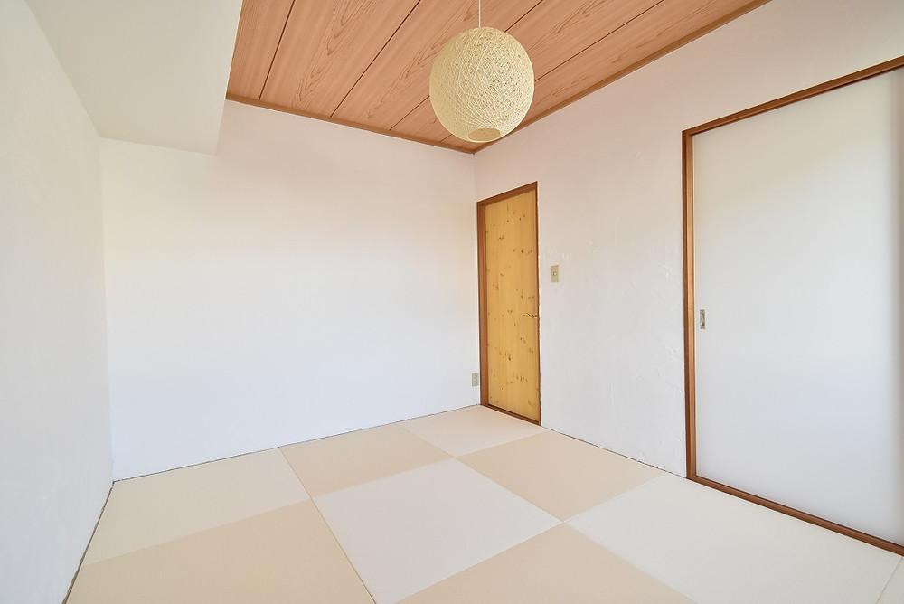おしゃれでモダン的な琉球畳が魅力