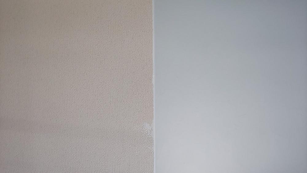 漆喰を施工するだけでお部屋がとにかく明るくなります。